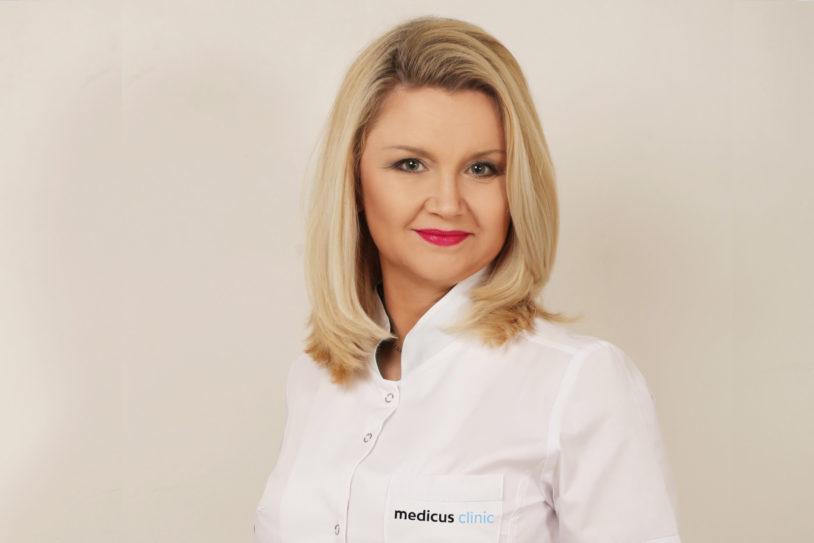 Dietetyk kliniczny Dorota Olanin