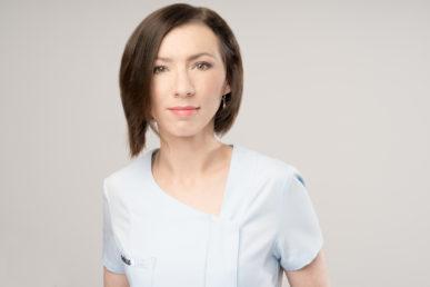 zdjęcie koordynator ds. hospitalizacji Anna Bahrynowska-Tomkin