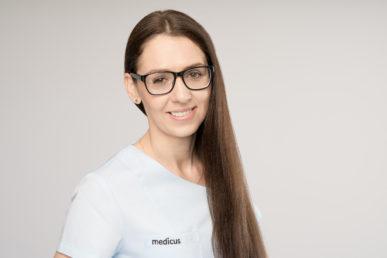 zdjęcie koordynator ds. hospitalizacji Katarzyna Jędryszek